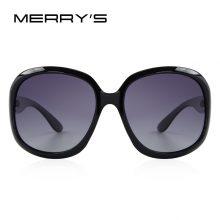 Retro stílisú polarizált női napszemüveg