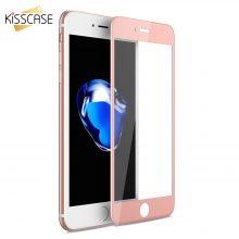 Üveg képernyővédő iPhone telefonokhoz, 4 színben