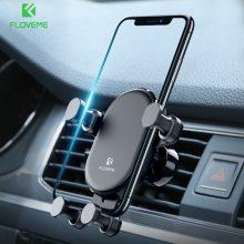 Autós telefontartó több típus számára, fekete színben