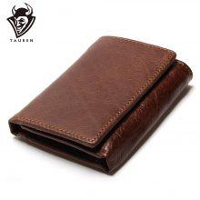 Klasszikus stílusú, marhabőr férfi pénztárca, 4 színben