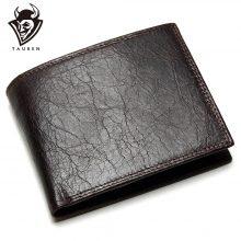 Hagyományos stílusú, marhabőr férfi pénztárca barna színben