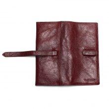 Retro stílusú, hosszúkás, uniszex pénztárca, 3 színben