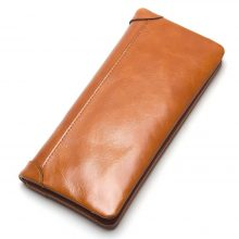 Hosszúkás, marhabőr női pénztárca 5 színben