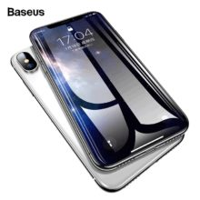 0,3 mm vastag képernyővédő temperált üvegből, iPhone készülékekhez, 2 színben