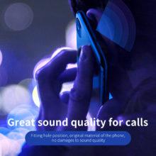 Ultravékony, pormentes képernyővédő iPhone készülékekhez, 2 színben