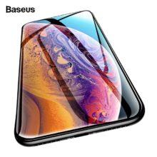0.3 mm vastag képernyővédő temperált üvegből, iPhone készülékekhez, 2 színben