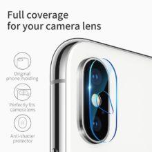 Áttetsző, ultravékony képernyővédő temperált üvegből, iPhone X készülékhez