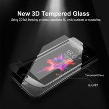 Temperált üveg képernyővédő iPhone készülékekhez, 2 színben