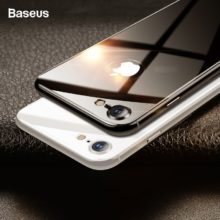 Karcolásmentes, temperált üveg képernyővédő iPhone készülékekhez, 2 színben