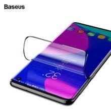 Ultravékony, temperált üveg képernyővédő Samsung készülékekhez, fekete színben