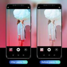Temperált üveg képernyővédő Huawei készülékekhez, áttetsző
