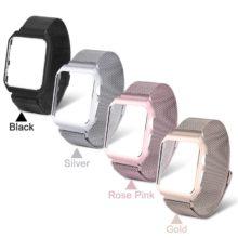 Védőtok iWatch órához rozsdamentes acélból, mágneses záródással, 4 színben