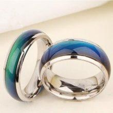 Hangulatgyűrű, karikagyűrű, 9-es méret