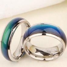Hangulatgyűrű, karikagyűrű, 6-os méret