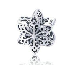 Ezüst hópihe charm  –  Pandora stílus