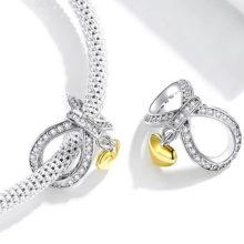 Ezüst charm, végtelen szerelem –  Pandora stílus
