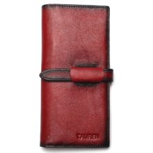 Uniszex marhabőr pénztárca, 4 színben