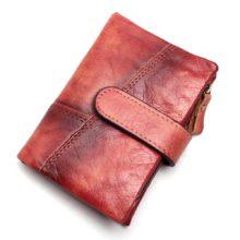 Uniszex pénztárca marhabőrből, 3 színben