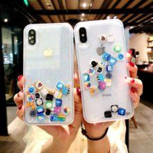 Műanyag iPhone tok, 4 színben