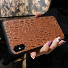 Krokodilbőr mintás telefontok Huawei készülékekhez, 8 változatban