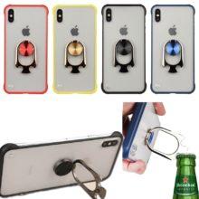 Műanyag iPhone tok sörnyitóval, 4 színben