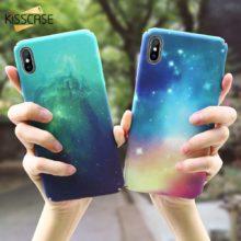 Csillogó iPhone tok műanyagból, 9 színben