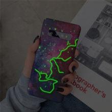 iPhone tok csillagos égbolt motívummal, 6 színben