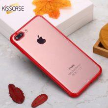 Áttetsző iPhone tok műanyagból, 4 színben