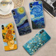 iPhone tok Van Gogh festménnyel, 5 változatban