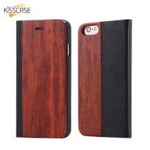iPhone tok bambuszból és műbőrből, 4 színben