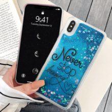 Csillogó szilikon telefontok Samsung modellekhez, 4 változatban