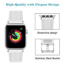 Apple Watch óraszíj bőrből, 6 színben